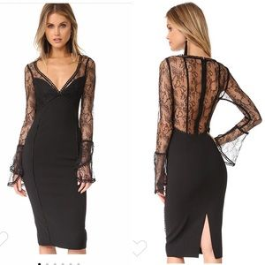 NWT Nicholas French lace cocktail dress